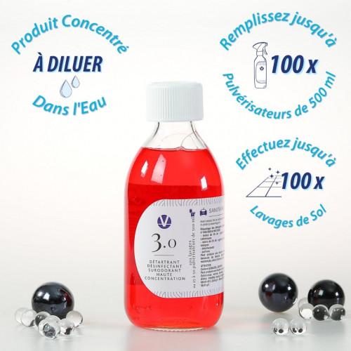 Détartrant Désinfectant Sanitaires Parfumé N°3.0