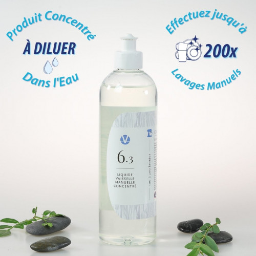 Liquide Vaisselle Ultra Dégraissant Écologique N°6.3