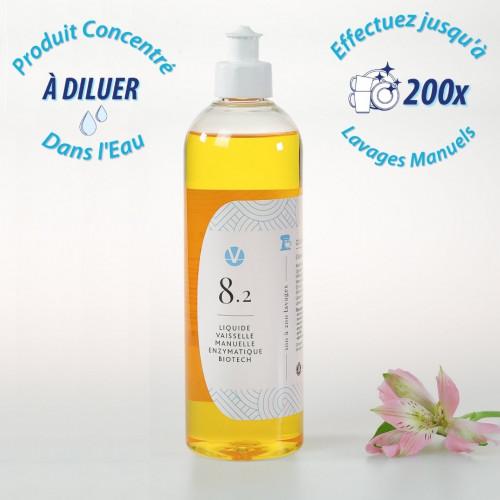 Liquide Vaisselle Trempage Biotechnologique N°8.2
