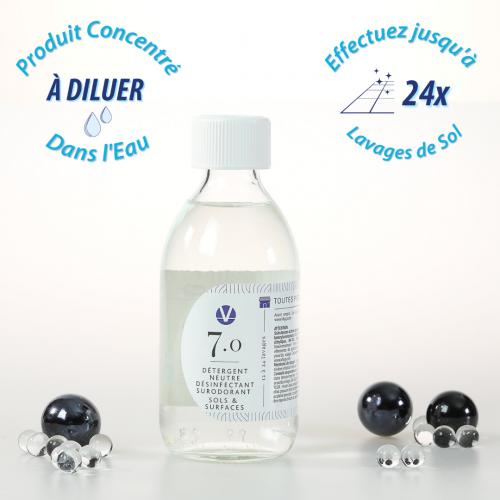 Nettoyant Désinfectant Surodorant Multi-Usages N°7.0