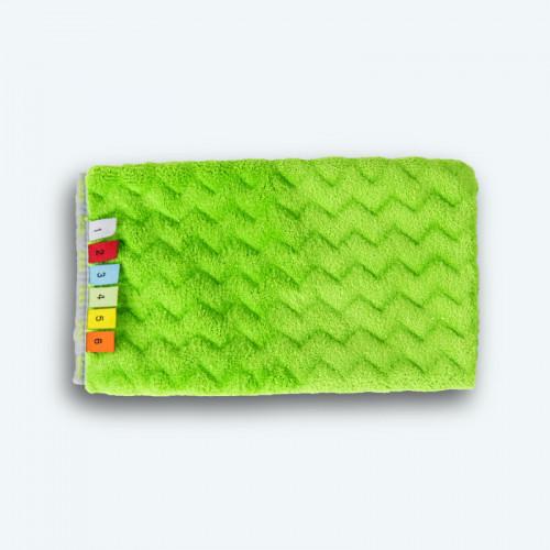 Gant Microfibre Dépoussiérant Vert Absorption de 532%