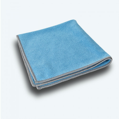 Carré Microfibre Multi-Usages Bleu Absorption de 600%