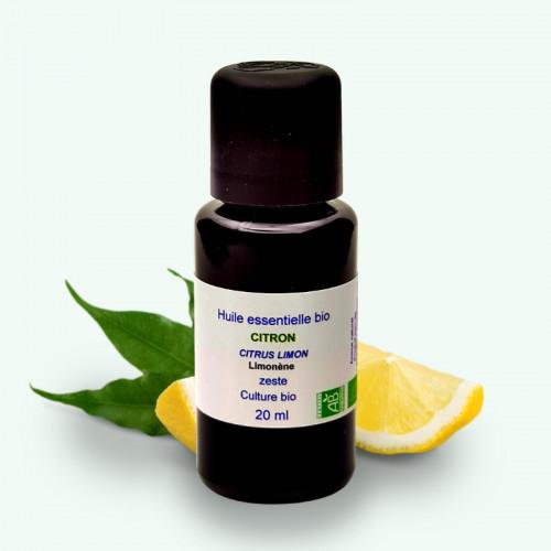 """Huile Essentielle Bio Citron """"Grand Cru"""" 20 ml"""