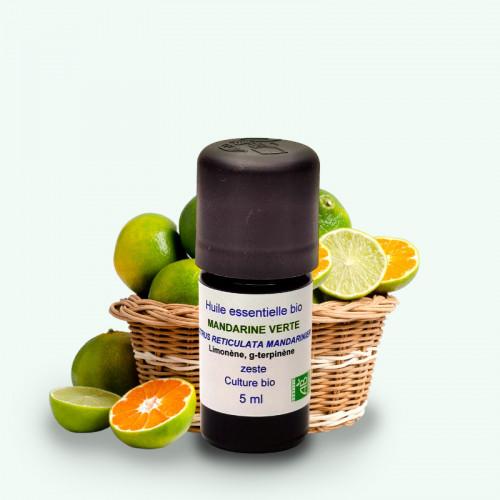 "Huile Essentielle Bio Mandarine Verte ""Grand Cru"" 5 ml"